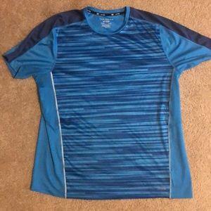 DryTEK TEKGEAR blue t-shirt